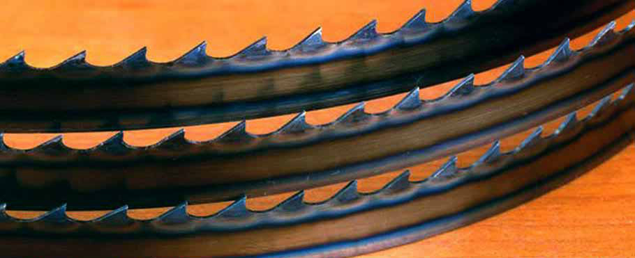 Timber Wolf Silicon Steel Band Saw Blades From 1/8 To 1 Inch